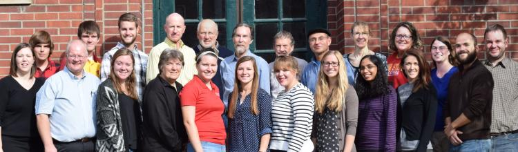 photo of ISU monarch research team 2016
