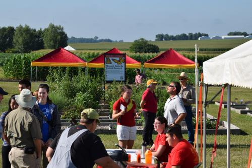 photo of field day registration