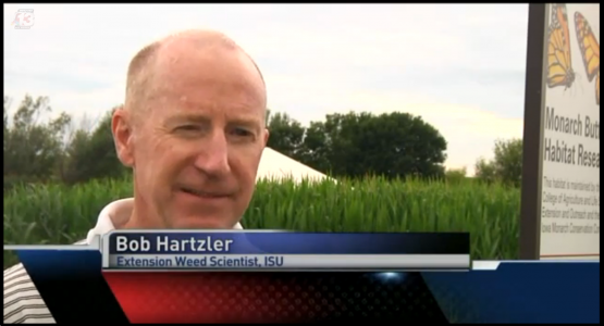 screen shot of Bob Hartzler interview