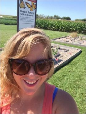 milkweed research plot