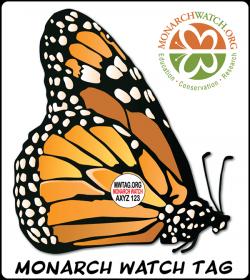 monarch watch tag