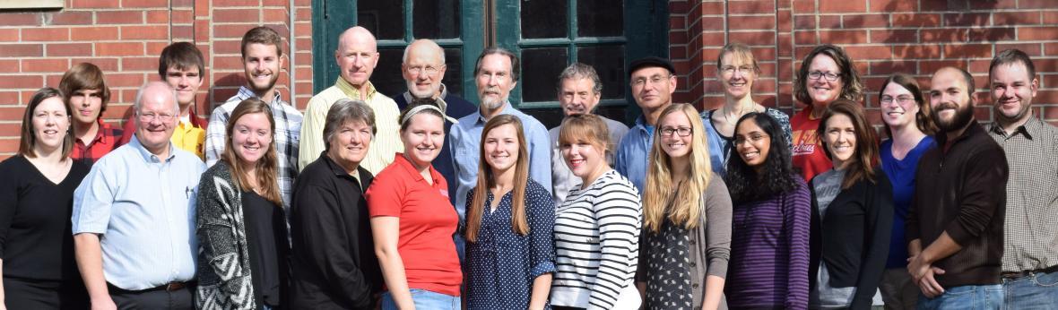 photo of ISU monarch research team 2016