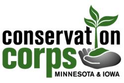 Conservation Corps of Iowa & Minnesota logo