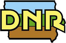 Iowa Department of Natural Resources logo.