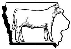 Iowa Cattlemen's Association logo.